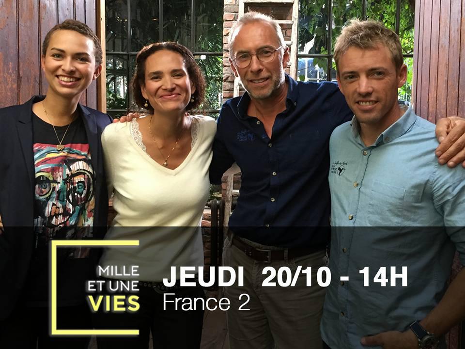 Frédérique Bedos sera aujourd'hui sur France 2