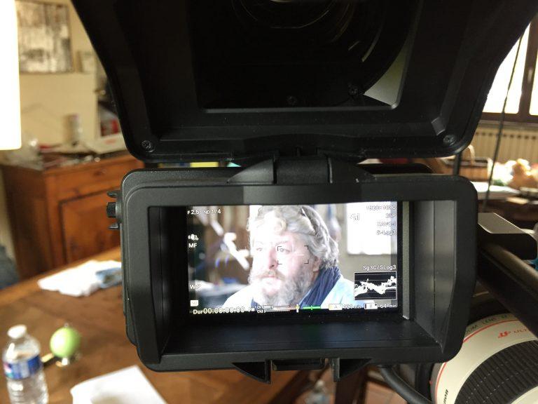 Un Héros Imagine en tournage
