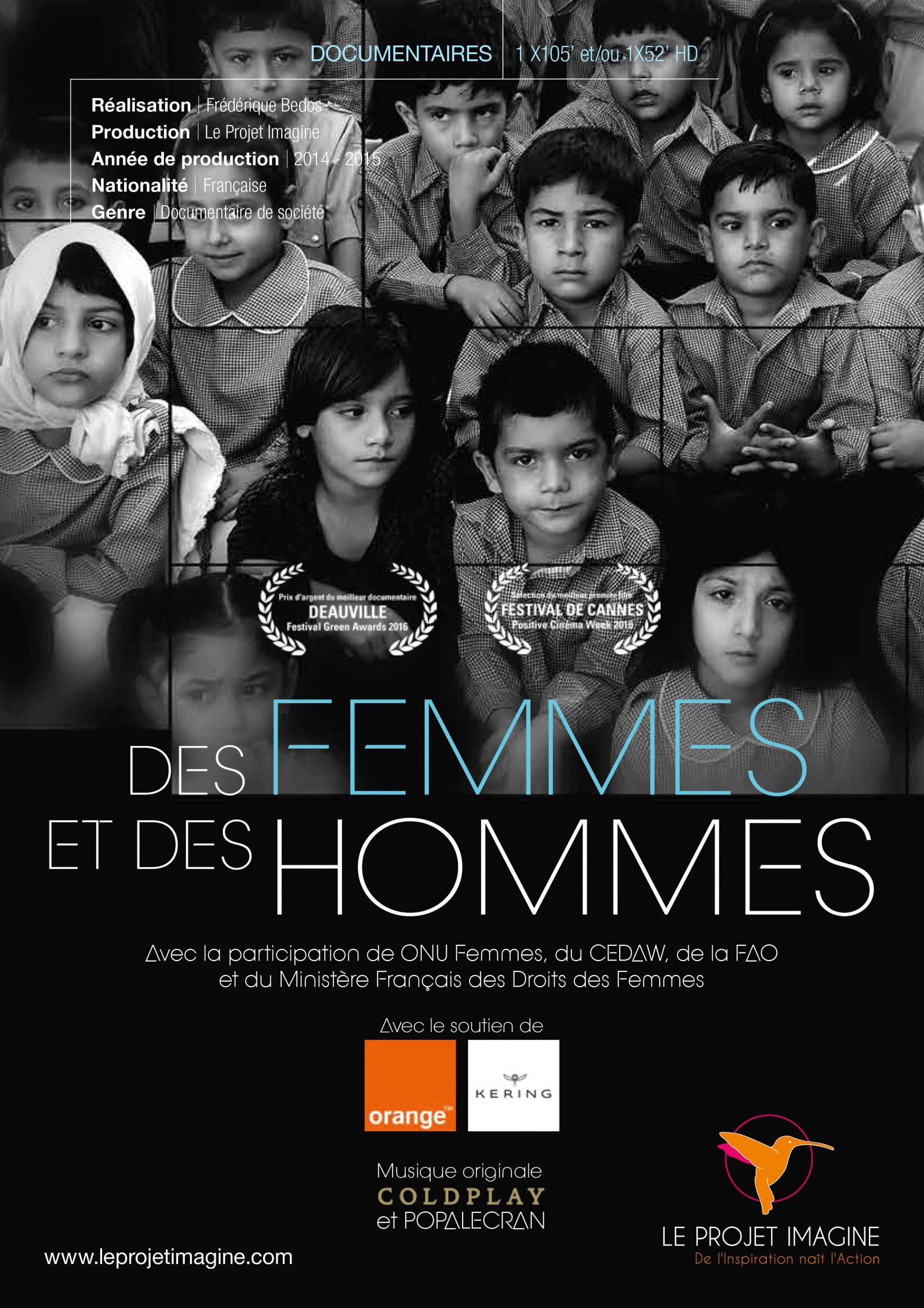 Regardez «DES FEMMES ET DES HOMMES» pour la Journée des femmes