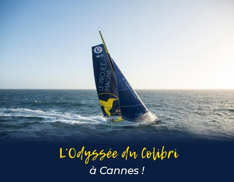 L'Odyssée du Colibri à Cannes !