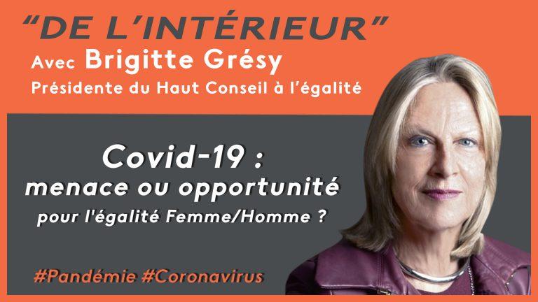 COVID 19, menace ou opportunité pour l'égalité Femme/Homme ?